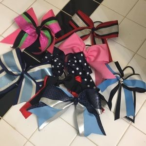 Bundle of girls hair bows
